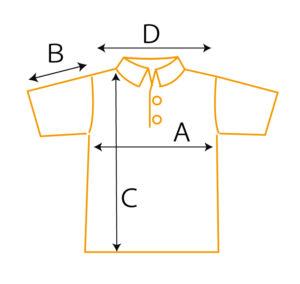クールパス ポロシャツ サイズ